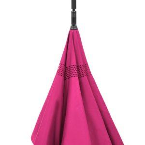 Paraguas invertido de doble capanovedad de la marca doppler. La colección Crazy nos presenta una irreverencia en el mundo de los paraguas