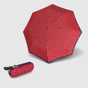 La nueva colección de paraguas Knirpsestá siendo recibida con gran entusiasmo por el público que demanda un paraguas de alta calidad. Y es que la famosa firma alemana del punto rojo no deja de innovar en su modelo con funda rígida X1