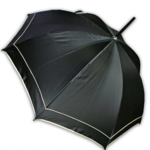 Paraguas largo con diseño Swarovski