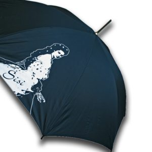 Paraguas largo emperatriz para mujer