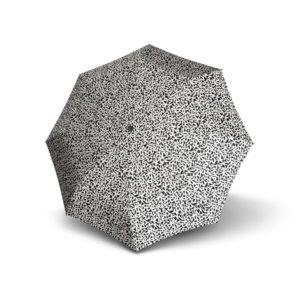 que los envolverá de diversión bajo la lluvia. Además es un paraguas perfecto para los días de lluvias porque cuenta con un estuche rígido para guardarlo en cualquier mochila