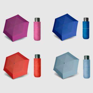 Paraguas mini de doppler que ha creado la colección fiber mini compact para diseñar un complemento a la altura de este otoño/invierno. Es perfecto por su tamaño y resistencia