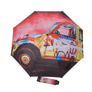especializada en paraguas para mujer con atrevidos diseños de motivos artísticos. Con este magnífico paraguas no querrás que pase un solo día sin lluvia. Se presenta con funda del mismo estilo. ¡No te quedes sin tu Doppler!