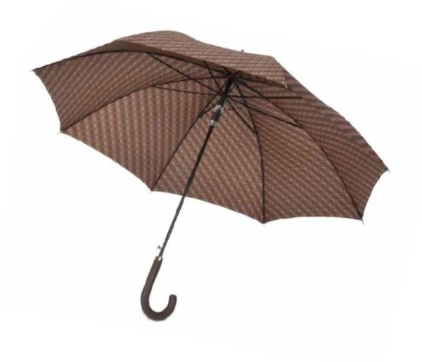 Este original paraguas de la prestigiosa marca alemana Knirps es una muestra de la esencia de esta marca