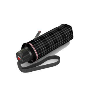 Paraguas original marca punto rojo Knirps. La nueva colección T Series incluye este modelo