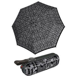 Paraguas plegable con estuche de Knirps. Su colección X1: significa fácil manejo