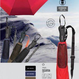 Paraguas plegable de senderismo trekking Doppler