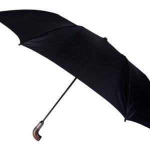 Este paraguas es una magnífica conjunción de paraguas plegable y paraguas tamaño golf. Cualquier hombre