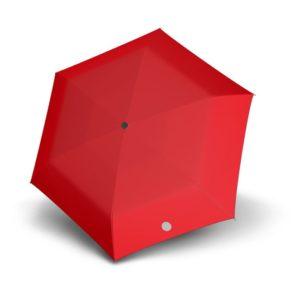 Paraguas reflectante tamaño pocket fabricado por la marca Doppler. Un paraguas sencillo pero que te ayudará a estar visible cuando pasees por zonas con poca luz