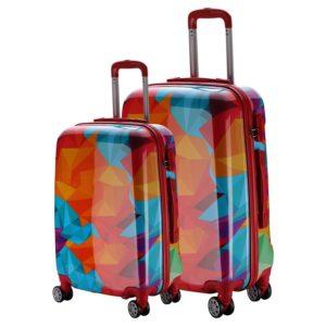 Set de maletasmarca Talento perteneciente a la colección Reggae con diseños únicos y glamurosos