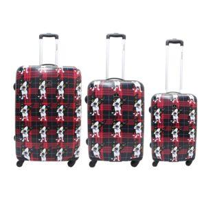 Si buscas unjuego de maletas de viaje originaless y de buena calidad estas son las que buscas. Con cerradura de combinación y un interior perfectamente acabado tendrás unasmaletas Saxoline que harán muchos viajes contigo. La pequeña se presenta en trolley de 2ruedas; mediana y grande