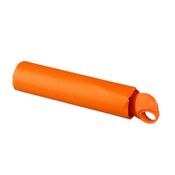 paraguas naranja de marca knirps