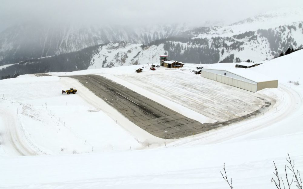 Aeropuerto de Courchevel