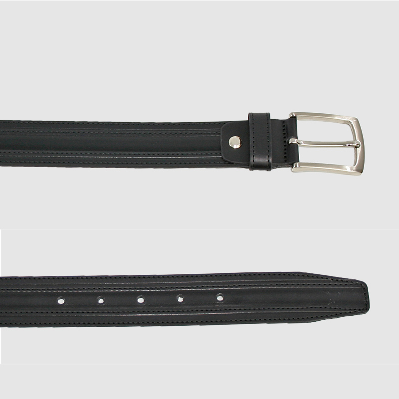 e5a10fb0 Cinturón de piel elegante para hombre fabricado en España