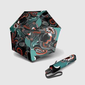 Paraguas Knirps moda plegable de señora con apertura abre-cierra