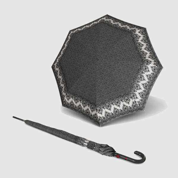 Paraguas largo de moda antiviento de señora knirps