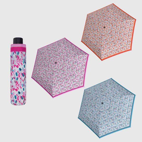 paraguas corto plegable para bolso de mujer