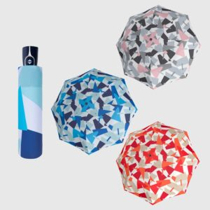 paraguas mini con protección solar doppler